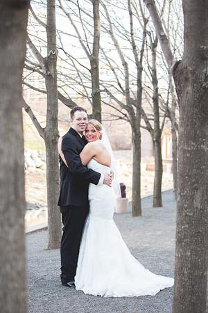 Angie + Chris' Wedding Portraits