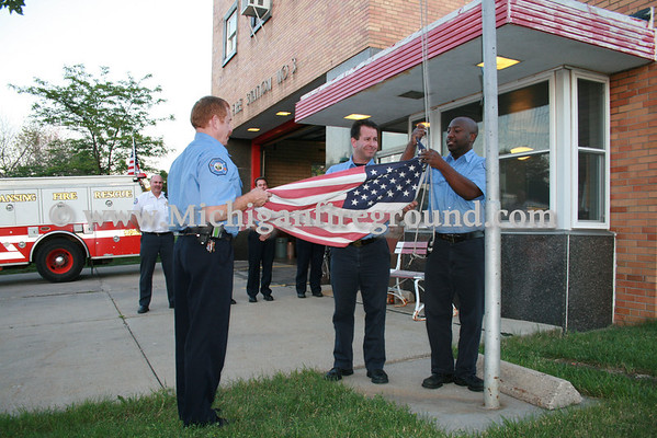 6/30/10 - Closing ceremonies for Lansing Fire Station 3