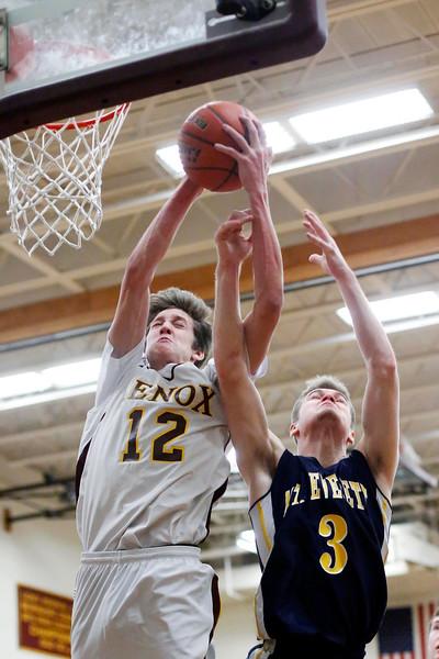 Mt. Everett-Lenox Boys Basketball-013015