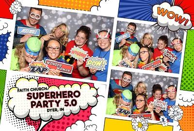 Faith Church Superhero Party 5.0