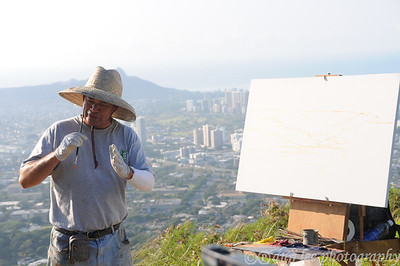 Mark Brown Plein Air Painter UH Class