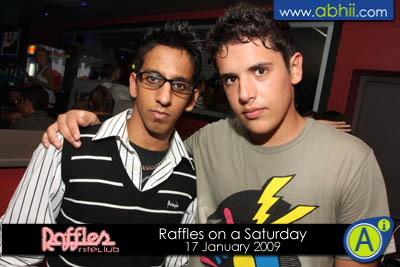 Raffles - 17th January 2009