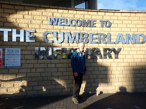 A visit to Cumberland Infirmary