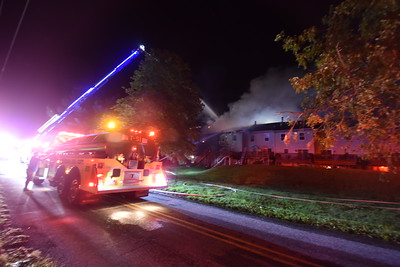 Building Fire, 1219 Faust Rd., Upper Frederick Twp, PA 9.2.2021