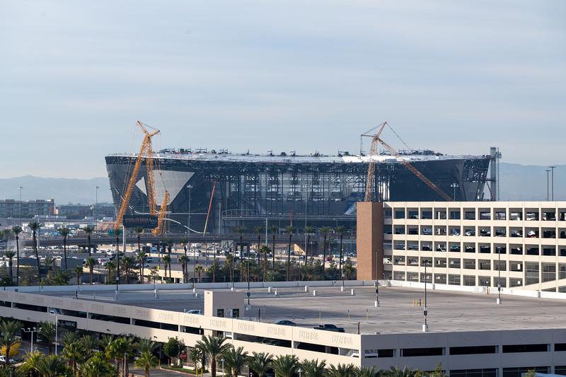 Allegiant Stadium - Future home of the Raiders