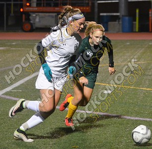 Mansfield - King Philip Girls Soccer 10-25-16