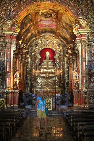 Sao Bento Monastery - Rio de Janeiro - December, 2013