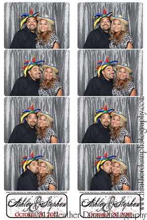 Ashley and Stephen - October 20, 2012 - Photo Booth Strips