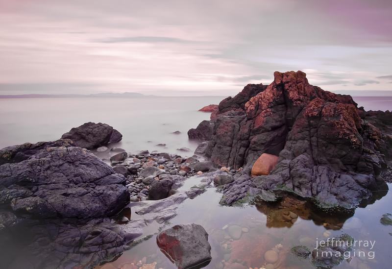Dunure rocks
