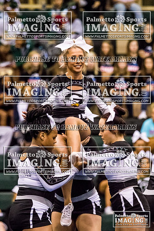 10-6-2018 Gray Collegiate Academy Cheer at BATB