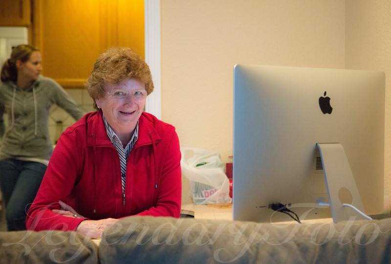 Oma Using a Computer for the First Time