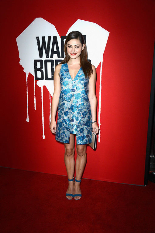 ". Actress Phoebe Tonkin arrives at the premiere of Summit Entertainment\'s ""Warm Bodies\"" at ArcLight Cinemas Cinerama Dome on January 29, 2013 in Hollywood, California.  (Photo by Frazer Harrison/Getty Images)"