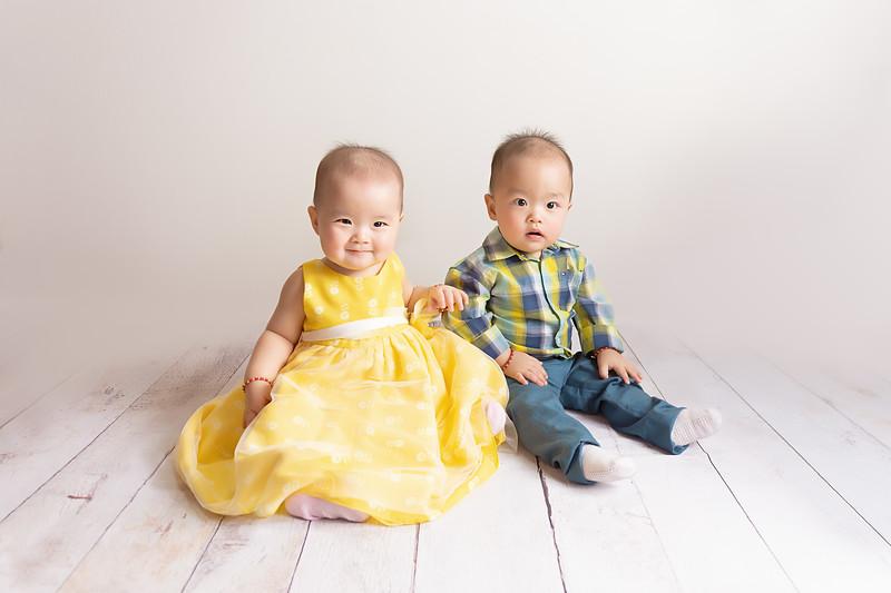 Charlotte & Tyler   10 months