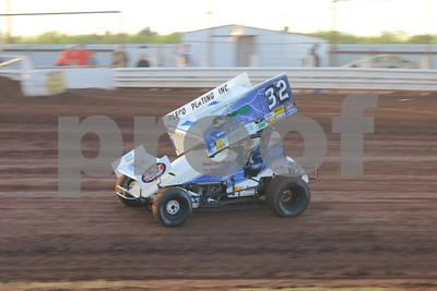 Abilene Speedway with SST Sprints 5/4/13