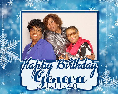 Geneva's 75th Birthday!