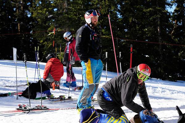 3-9-14 Masters DH at Ski Cooper - Groups