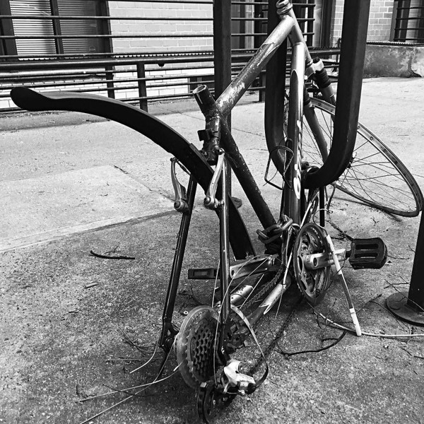Not the best outcome for this manhattan bicycle