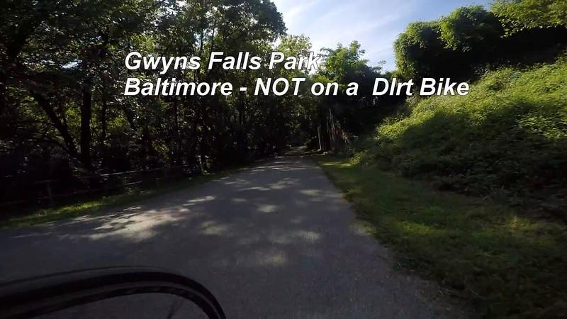 Baltimore Gwynns Falls Park Trail.mp4