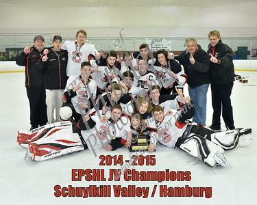 Schuylkill Valley/Hamburg vs Fleetwood EPSHL JV Championship 2015