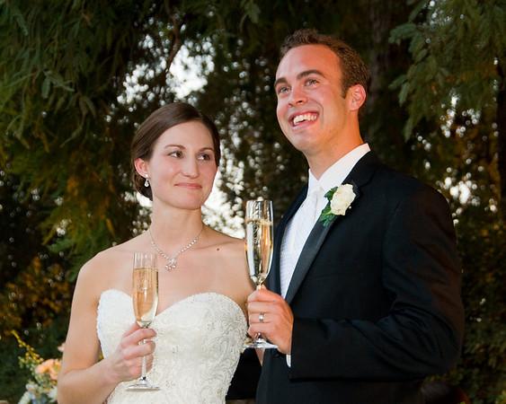 Scott & Kristin Reception - Toasts