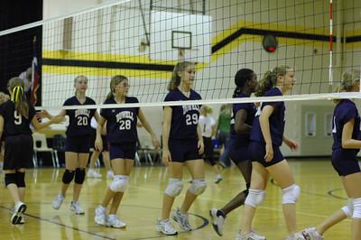 Volley Ball Game vs B McDaniel