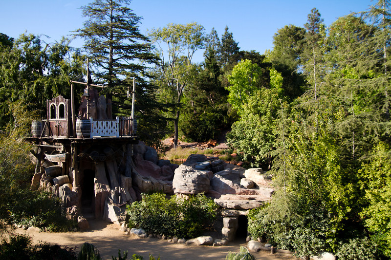 Pirates Play Area On Tom Sawyers Island From The Mark Twain
