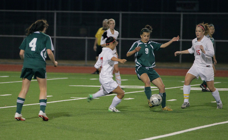 Woodinville High Girls Varsity Soccer verse Newport High September 29, 2011, Bellevue Washington   ©Neir