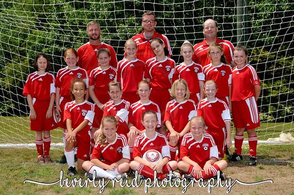 2009-2010 ERSA U9G Team and Individual