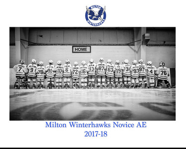 Milton Winterhawks AE Practice shoot