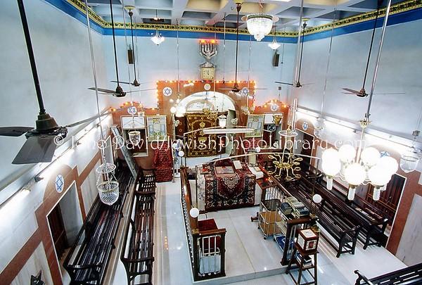INDIA, Mumbai (Bombay). Shaar Hashamaim (Gate of Heaven) Synagogue, Thane, 1879. (2009)