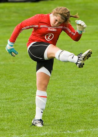 9/13/08 Nobles Girls Varsity Soccer - Scrimmage vs. Loomis Chaffee