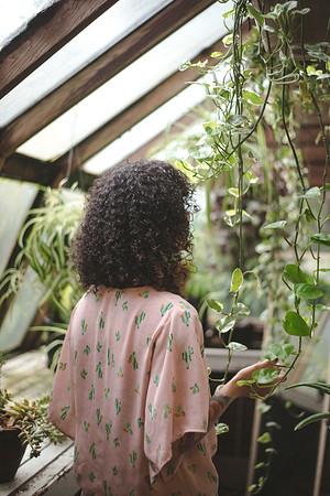 Sierra in the Greenhouse