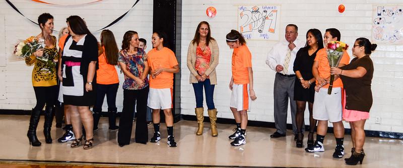 Girl's Basketball - Senior Night
