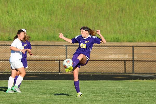 Soccer Girls Districts vs. Hackett - KCHS - 6/1/17