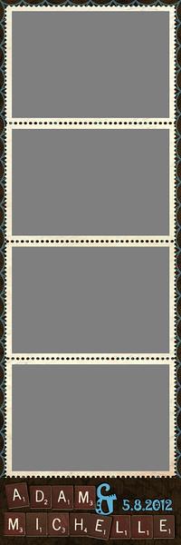2x6 Strips - 4 Photos