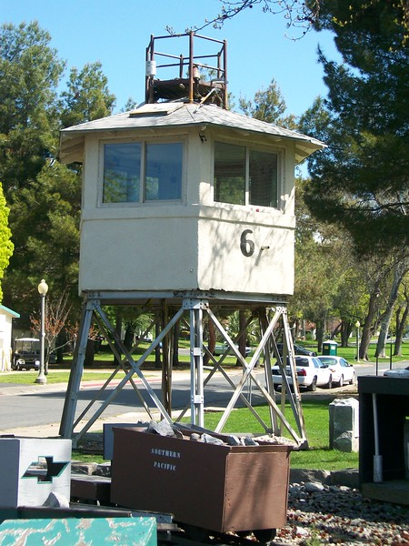 Old Folsom Guard Tower