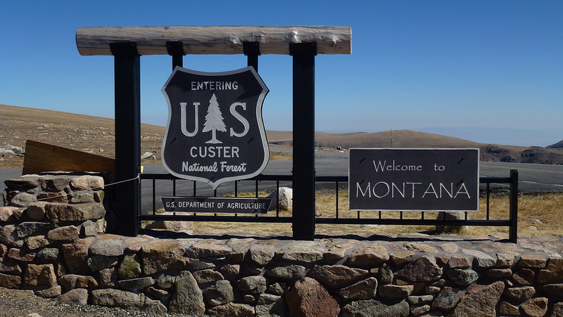 Was sure I had seen Custer Nat Forest  again in Sout Dakota as well.