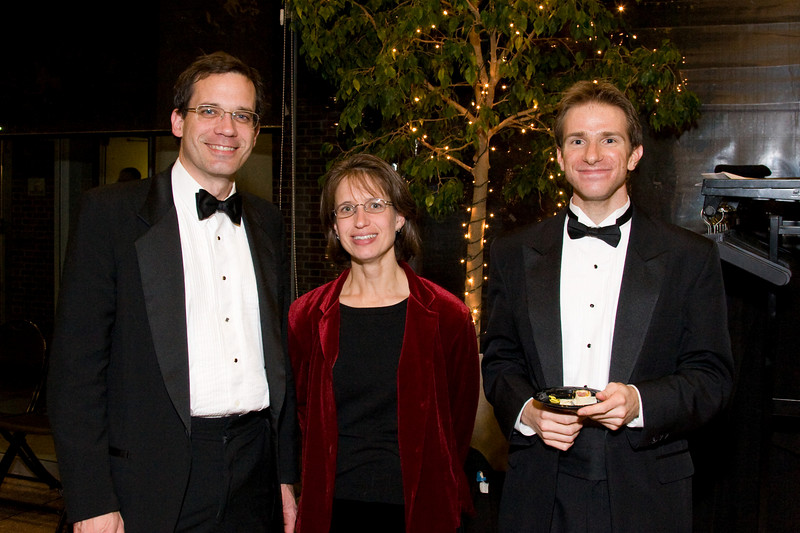 Andy & Laurie White and Martin Shultz -- HSO 25th anniversary post-concert Gala