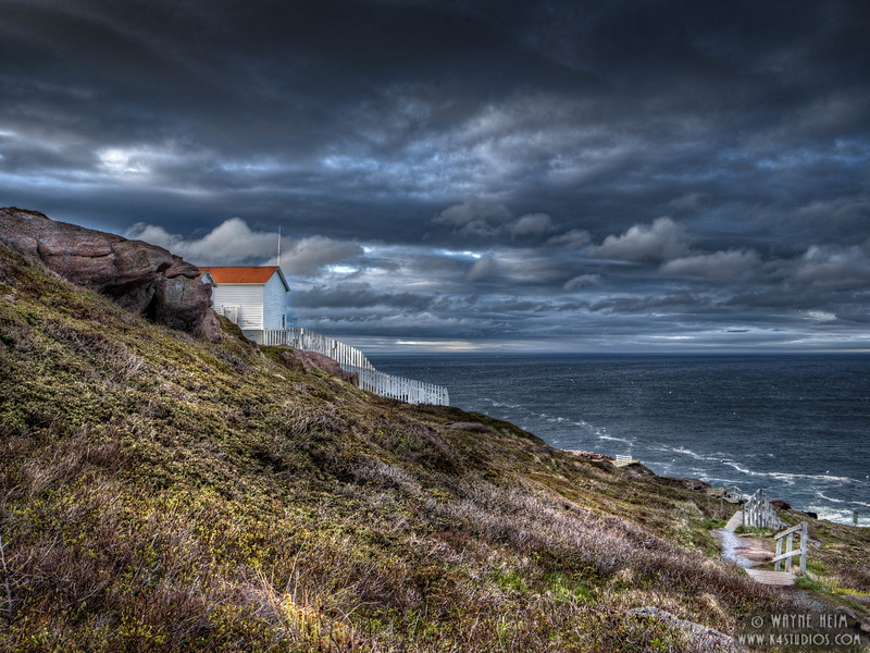 Stormy Cape  Photography by Wayne Heim
