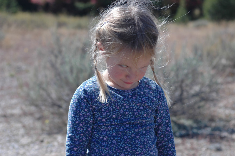 Angry girlGrand Teton National Park