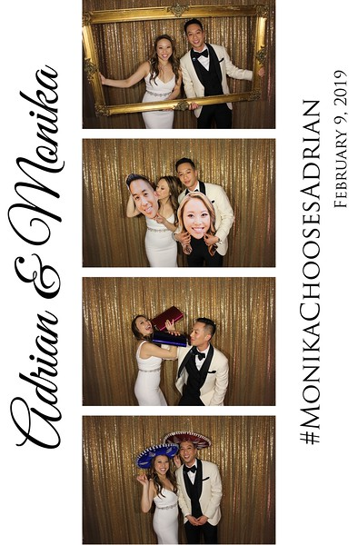 Adrian & Monika Wedding - 2.9.19 - Photo Strips