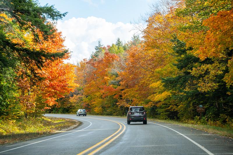 Michigan fall road trip