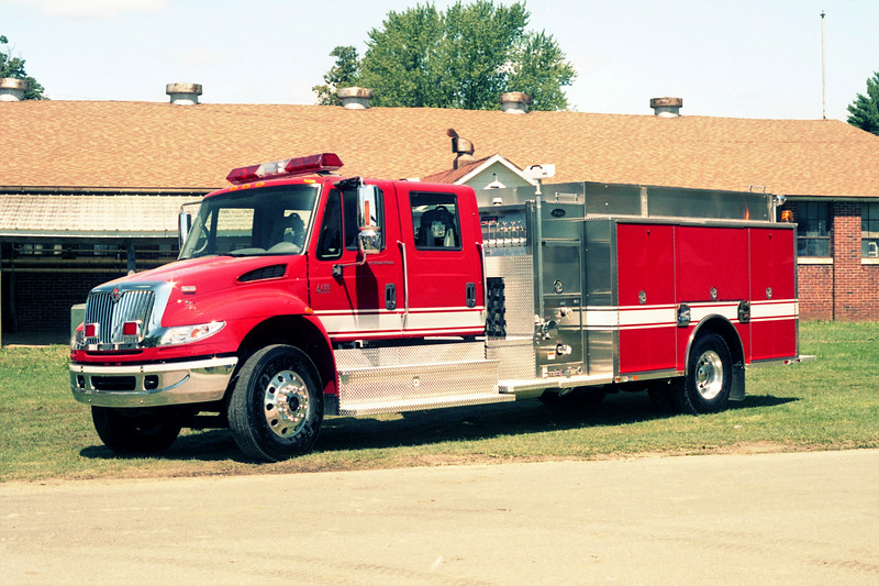 TOYNE DEMO IHC 4400 PUMPER