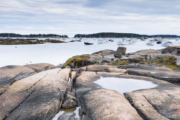 a swath of coastal Maine