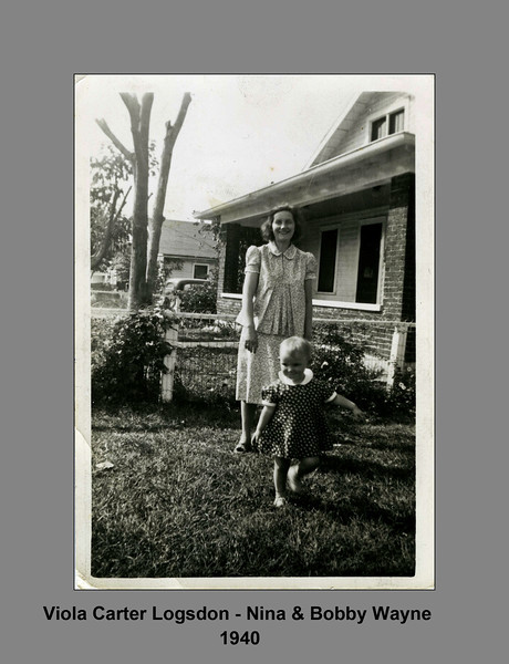 Viola Carter Logsdon - Nina & Bob 1940.jpg