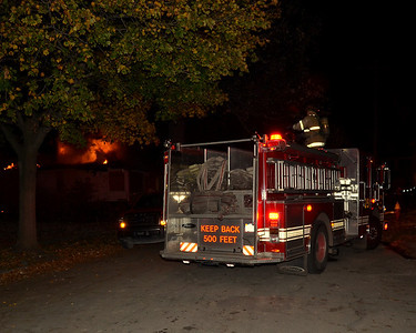 Detroit Fire, Box Alarm,  494 S Waring 10-26-12