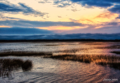 High Tide - Intercoastal Waterway, Oak Island, NC