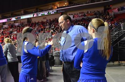 2016 State Girls Basketball: 1A Semifinals Newell-Fonda vs Springville