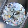 4.11ct Antique Cushion Cut Diamond, GIA N VS1 1