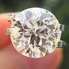 3.86ct Old European Cut Diamond GIA K VS2 45